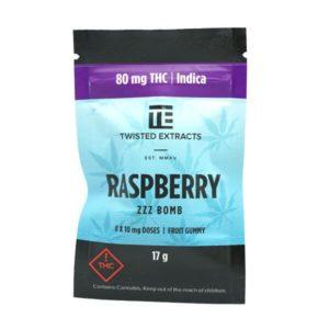 Raspberry Zzz Jelly Bomb