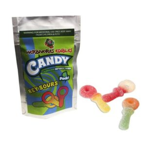 Herbivores Edibles Key Sour Gummies