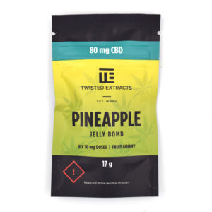 Buy Pineapple CBD Jelly Bomb