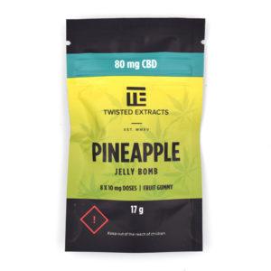 Buy Pineapple CBD Jelly Bomb